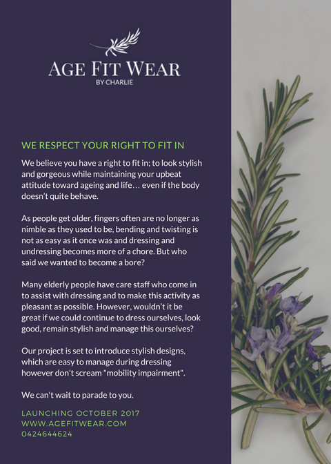 AGE FIT WEAR - GET READY POSTER (1)